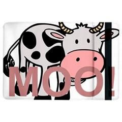 Moo Cow Cartoon  iPad Air 2 Flip