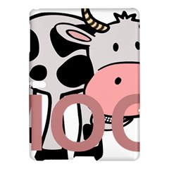 Moo Cow Cartoon  Samsung Galaxy Tab S (10.5 ) Hardshell Case