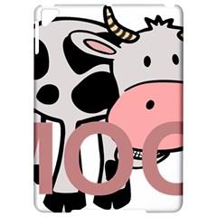 Moo Cow Cartoon  Apple iPad Pro 9.7   Hardshell Case