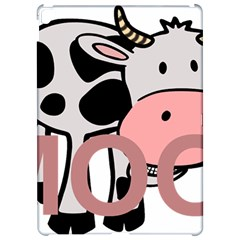 Moo Cow Cartoon  Apple iPad Pro 12.9   Hardshell Case