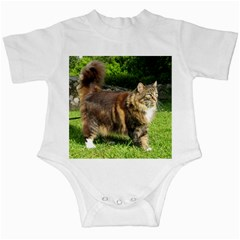 Norwegian Forest Cat Full  Infant Creepers