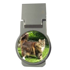 Norwegian Forest Cat Full  Money Clips (Round)