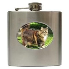 Norwegian Forest Cat Full  Hip Flask (6 oz)