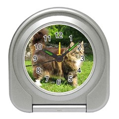 Norwegian Forest Cat Full  Travel Alarm Clocks