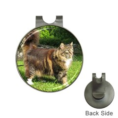 Norwegian Forest Cat Full  Hat Clips with Golf Markers