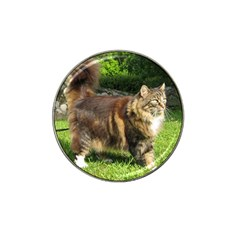 Norwegian Forest Cat Full  Hat Clip Ball Marker