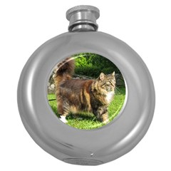 Norwegian Forest Cat Full  Round Hip Flask (5 oz)