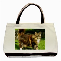 Norwegian Forest Cat Full  Basic Tote Bag (Two Sides)
