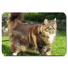 Norwegian Forest Cat Full  Large Doormat