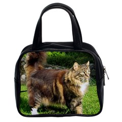 Norwegian Forest Cat Full  Classic Handbags (2 Sides)