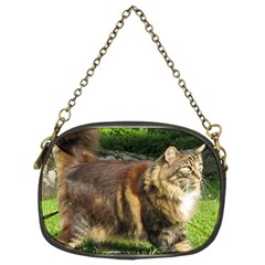 Norwegian Forest Cat Full  Chain Purses (Two Sides)