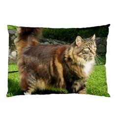 Norwegian Forest Cat Full  Pillow Case