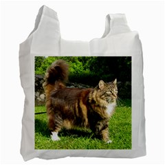 Norwegian Forest Cat Full  Recycle Bag (Two Side)