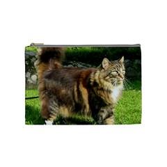 Norwegian Forest Cat Full  Cosmetic Bag (Medium)