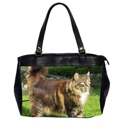 Norwegian Forest Cat Full  Office Handbags (2 Sides)