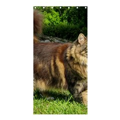 Norwegian Forest Cat Full  Shower Curtain 36  x 72  (Stall)
