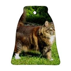 Norwegian Forest Cat Full  Ornament (Bell)