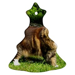 Norwegian Forest Cat Full  Christmas Tree Ornament (2 Sides)