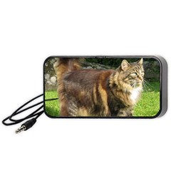 Norwegian Forest Cat Full  Portable Speaker (Black)