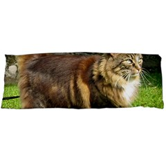 Norwegian Forest Cat Full  Body Pillow Case Dakimakura (Two Sides)