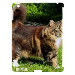 Norwegian Forest Cat Full  Apple iPad 3/4 Hardshell Case (Compatible with Smart Cover)