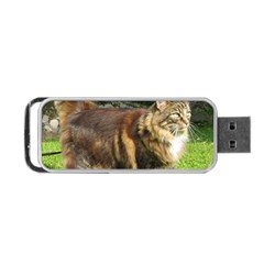 Norwegian Forest Cat Full  Portable USB Flash (One Side)