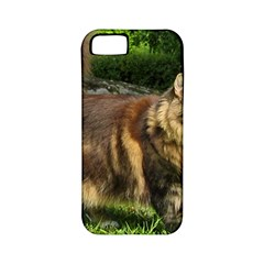 Norwegian Forest Cat Full  Apple iPhone 5 Classic Hardshell Case (PC+Silicone)