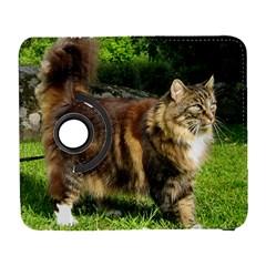 Norwegian Forest Cat Full  Galaxy S3 (Flip/Folio)