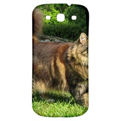 Norwegian Forest Cat Full  Samsung Galaxy S3 S III Classic Hardshell Back Case
