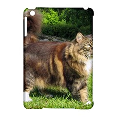 Norwegian Forest Cat Full  Apple iPad Mini Hardshell Case (Compatible with Smart Cover)