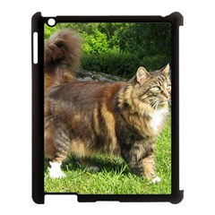 Norwegian Forest Cat Full  Apple iPad 3/4 Case (Black)