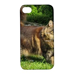 Norwegian Forest Cat Full  Apple iPhone 4/4S Hardshell Case with Stand
