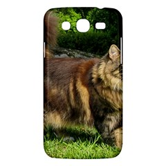Norwegian Forest Cat Full  Samsung Galaxy Mega 5.8 I9152 Hardshell Case