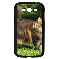Norwegian Forest Cat Full  Samsung Galaxy Grand DUOS I9082 Case (Black)