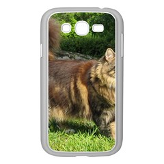 Norwegian Forest Cat Full  Samsung Galaxy Grand DUOS I9082 Case (White)
