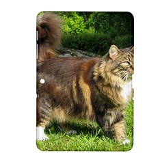 Norwegian Forest Cat Full  Samsung Galaxy Tab 2 (10.1 ) P5100 Hardshell Case
