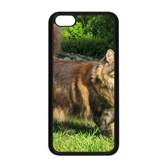 Norwegian Forest Cat Full  Apple iPhone 5C Seamless Case (Black)