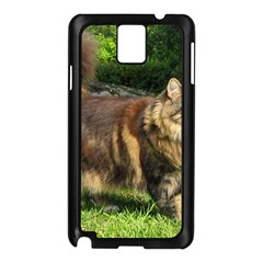 Norwegian Forest Cat Full  Samsung Galaxy Note 3 N9005 Case (Black)
