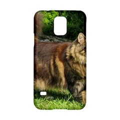 Norwegian Forest Cat Full  Samsung Galaxy S5 Hardshell Case