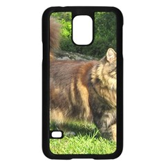 Norwegian Forest Cat Full  Samsung Galaxy S5 Case (Black)