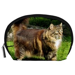 Norwegian Forest Cat Full  Accessory Pouches (Large)