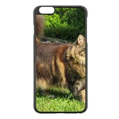 Norwegian Forest Cat Full  Apple iPhone 6 Plus/6S Plus Black Enamel Case