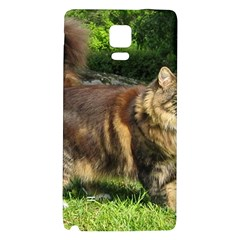 Norwegian Forest Cat Full  Galaxy Note 4 Back Case