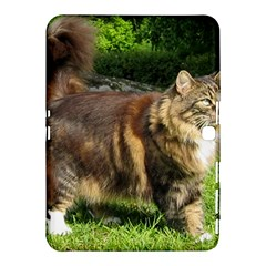Norwegian Forest Cat Full  Samsung Galaxy Tab 4 (10.1 ) Hardshell Case