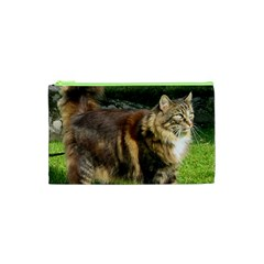 Norwegian Forest Cat Full  Cosmetic Bag (XS)