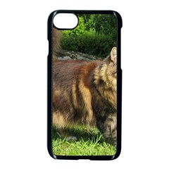 Norwegian Forest Cat Full  Apple iPhone 7 Seamless Case (Black)