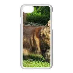 Norwegian Forest Cat Full  Apple iPhone 7 Seamless Case (White)