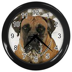 Boerboel  Wall Clocks (Black)