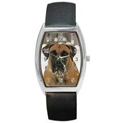 Boerboel  Barrel Style Metal Watch