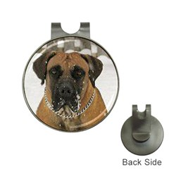 Boerboel  Hat Clips with Golf Markers